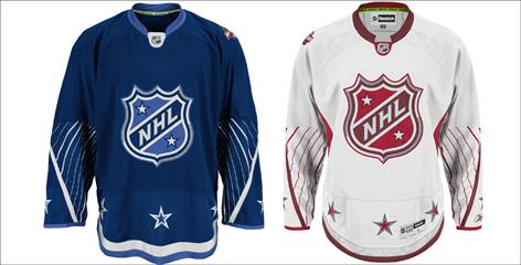 The NHL unveiled the uniforms that will be worn during the Jan. 30 All-Star Game.