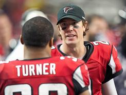 Matt Ryan and the Falcons host the Packers on Saturday.