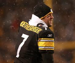 Ben Roethlisberger and the Steelers host the Ravens on Saturday.