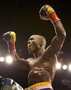 Timothy Bradley is 26-0 with 11 knockouts, but he fought just once in 2010.