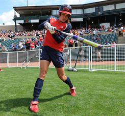 Two-time Olympic medalist Jessica Mendoza and some of her teammates will forego playing for the U.S. national team and instead focus on the National Pro Fastpitch league in hopes of growing the sport.