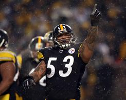 Maurkice Pouncey and the Steelers host the Ravens on Saturday.