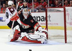 Chicago Blackhawks rookie Corey Crawford, who has taken the No. 1 job from Marty Turco, is working on back-to-back shutouts.