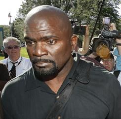 Lawrence Taylor pleaded guilty to two misdemeanor charges on Thursday.