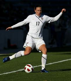 Veteran forward Abby Wambach will not take part in the Four Nations Tournament because of an injury to her heel.