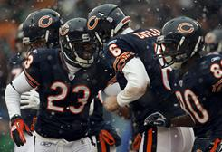 Jay Cutler and the Bears defeated the Seahawks to clinch a berth in the NFC title game.