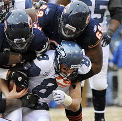 Chicago advanced to the NFC Championship Game against Green Bay. The Bears defense handled Matt Hasselbeck and the Seahawks 35-24.