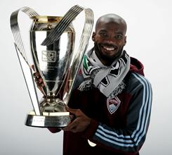Omar Cummings, who won the MLS cup with the Colorado Rapids last season, has impressed during his trial at Aston Villa.