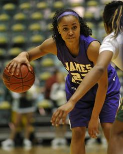 Dawn Evans, a James Madison University guard, is the nation's leading scorer in Division I women's basketball, averaging 25.3 points a game. She also is battling a rare kidney disease  Focal Segmental Glomerularsclerosis  that disrupts the filtering system in her kidneys.