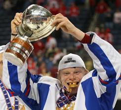 Flashy Denis Golubev scored important goals for the Russians at the world junior championships.