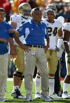 Former UCLA offensive coordinator Norm Chow has taken the same position with Utah, his alma mater.