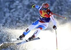 Switzerland's Didier Cuche, 36, became the oldest man to win a World Cup race on Saturday. He broke Marco Buechel's record by 85 days at the event in Kitzbuehel, Austria.