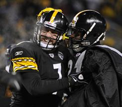 Ben Roethlisberger and the Steelers advanced to Super Bowl XLV, where they will play the Packers. The game will be on Feb. 6 in Dallas.