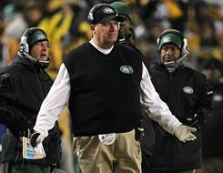 The season ended for Rex Ryan and the Jets in a loss at Pittsburgh on Sunday.