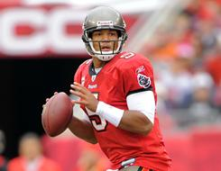 Bucs QB Josh Freeman led his team from 3-13 in 2009 to 10-6 this season.