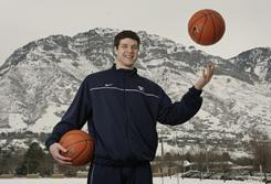Guard Jimmer Fredette is leading the nation in scoring, averaging 26.7 points for BYU.