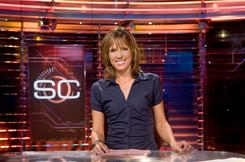 ESPN will announce Wednesday that anchor Hannah Storm has signed a new contract.
