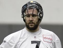 Ben Roethlisberger and the Steelers returned to practice on Wednesday.