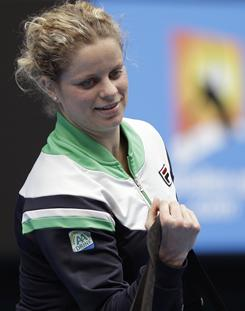 Kim Clijsters will lead the Belgian contingent during next week's Fed Cup tie against the USA.