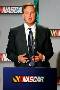 NASCAR chairman and CEO Brian France announced the circuit is changing its points system, which had been in place since 1975.