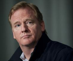 Roger Goodell presides over a league that could face a work stoppage in 2011.