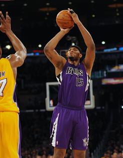 DeMarcus Cousins had 26 points and 10 rebounds to help the Kings snap an eight-game losing streak to the Lakers.