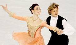 Meryl Davis and Charlie White outperformed their opponents in the short dance at the U.S. Figure Skating Championships on Friday.