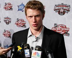 Eric Staal drafted his Carolina Hurricanes teammates, his brother, Marc, and fellow players from Thunder Bay, Ontario.