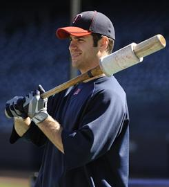 All-Star catcher Joe Mauer signed an eight-year, $184 million contract in March.