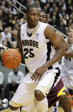 JaJuan Johnson, the Big Ten's leading scorer, had 24 points to lead No. 12 Purdue past No. 18 Minnesota.