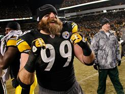 While Pittsburgh defensive end Brett Keisel is known for harassing opposing offenses, his beard is now getting all the attention leading into Super Bowl XLV.