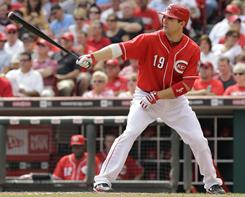 First baseman Joey Votto earned a three-year, $38 million deal from the Reds after a stellar 2010 season, hitting .324 with 37 homers and 113 RBI.