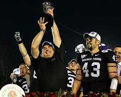 TCU coach Gary Patterson has built upon the momentum of his team's Rose Bowl win to compile a strong recruiting class.