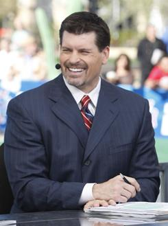ESPN football analyst Mark Schlereth is the model for a sitcom on CBS.