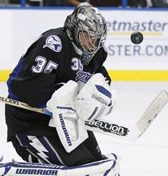 Tampa Bay Lightning goalie Dwayne Roloson has four shutouts in 11 games since his Jan. 2 trade. Two of them have come against the Washington Capitals, Friday's opponent.