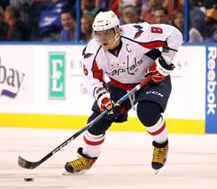 Alex Ovechkin had a goal and three assists to help the Capitals snap a three-game winless streak.