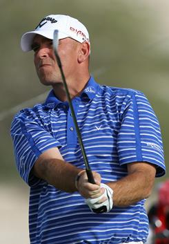 Thomas Bjorn birdied four of the last five holes en route to a 6-under 66 for the third round of the Qatar Masters