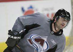 Peter Forsberg won two Stanley Cups and an MVP title with the Colorado Avalanche.