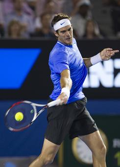 Juan Martin Del Potro of Argentina is still trying to find his game and regain his confidence after losing much of 2010 to injury and sliding to No. 485 in the rankings.