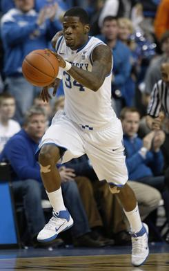 DeAndre Liggins tied a career high with 19 points as Kentucky defeated Tennessee 73-61 Tuesday night in Lexington, Ky.