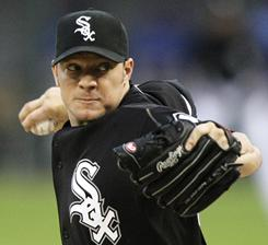 Jake Peavy made 17 starts last season for the White Sox before he was shut down with a shoulder injury.