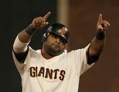 The Giants hope Pablo Sandoval can return to his form from 2009, when he hit .330 and 25 home runs.