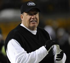 Rex Ryan and the Jets may be favorites in the AFC for the 2011 season.