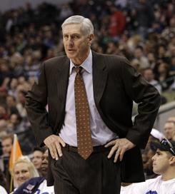 Jerry Sloan is third on the all-time wins list with 1,221 victories, over 1,000 of which have come with the Utah Jazz.