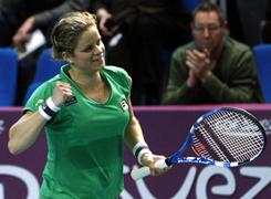 Kim Clijsters of Belgium, the reigning Australian Open and U.S. Open champion, will return to No. 1 in the world when the rankings are released Monday.