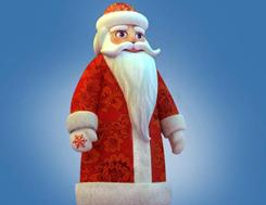 """Inspired by St. Nicholas, """"Father Frost"""" is the Russian Santa Claus. He is one of the finalists in the running for mascot of the XXII Olympic Winter Games of 2014 in Sochi."""