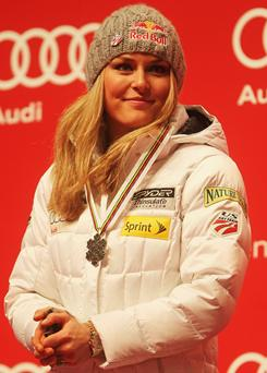 Lindsey Vonn is still feeling the effects of a concussion she suffered during training for the world championships.