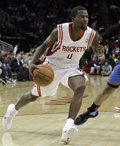 Aaron Brooks, who has missed 21 games this season, is just one of a handful of Houston Rockets who have missed time.