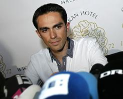 Alberto Contador, a three-time winner of the Tour de France, appears set to hold on to his 2010 victory.