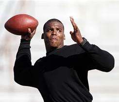 Auburn quarterback Cam Newton headlines a list of 12 nominees for the Sullivan Award, presented annually to the nation's top amateur athlete.